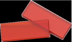 Dosimeters Harwell Red Perspex